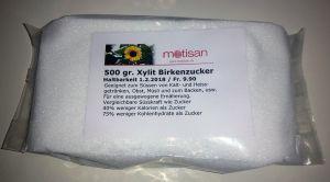 Xylit Birkenzucker 500 gr.