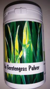 Bio Gerstengras Pulver, Dose, 100 g