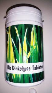 Bio Dinkelgras Tabletten, Dose, 500 St., 200 g