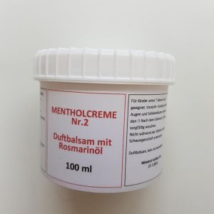 Duftbalsam Mentholcreme 2 Rot 100 ml