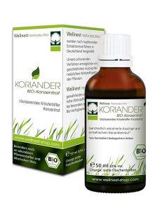 Koriander Bio Frischpflanzen Konzentrat, 50ml