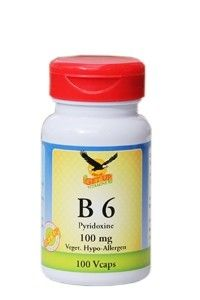 Vitamin B6 21mg by Get Up, 100 Kaps (Pyridoxin)