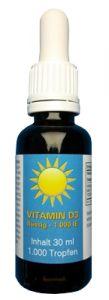 Vitamin D3 FLÜSSIG, 1.000 ie, Natürlich, 1000 Tropfen