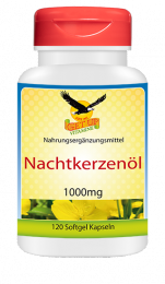 Nachtkerzenöl (Vitamin F) 1000 mg, 120 Kapseln