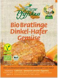 Pfiffikus Bio Bratlinge Dinkel-Hafer-Gemüse 160 g