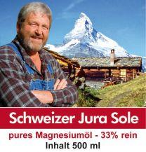 Magnesiumöl Jurasohle 500 ml