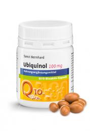 Ubiquinol 100 mg Q10-bioaktiv-Kapseln